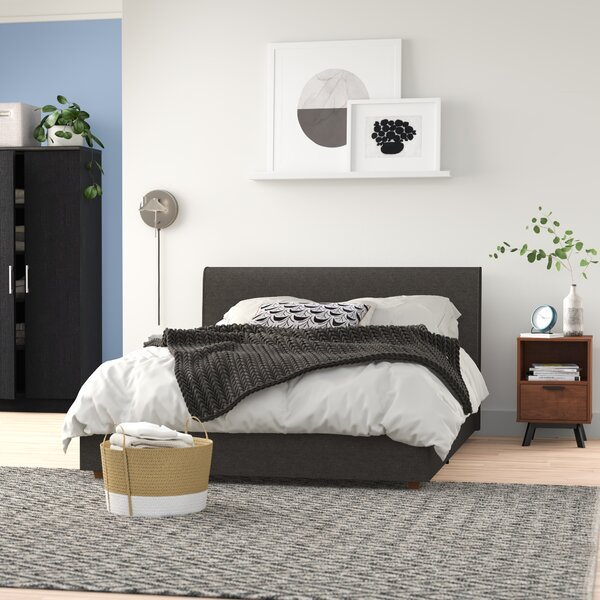 Colonial Place Upholstered Platform Bed by Zipcode Design