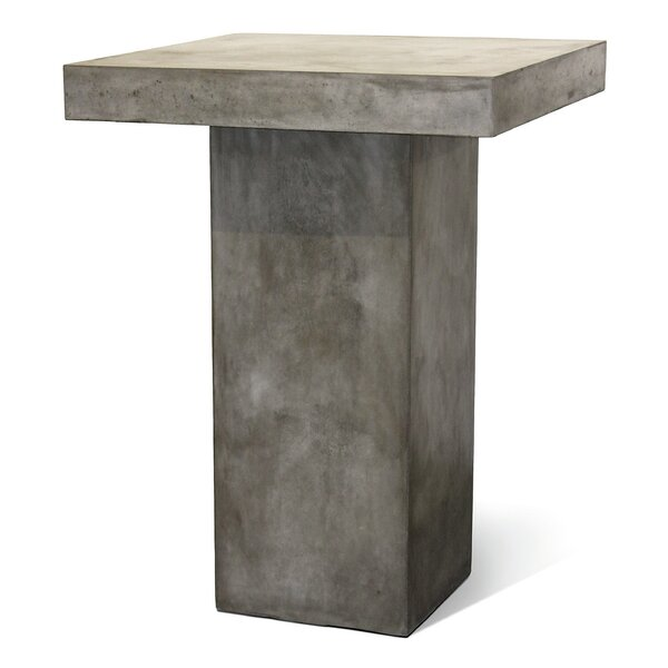 Provence Concrete Bar Table by Seasonal Living