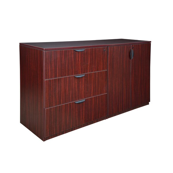 Linh Stand Up Side to Side Storage 3-Drawer Lateral Filing Cabinet