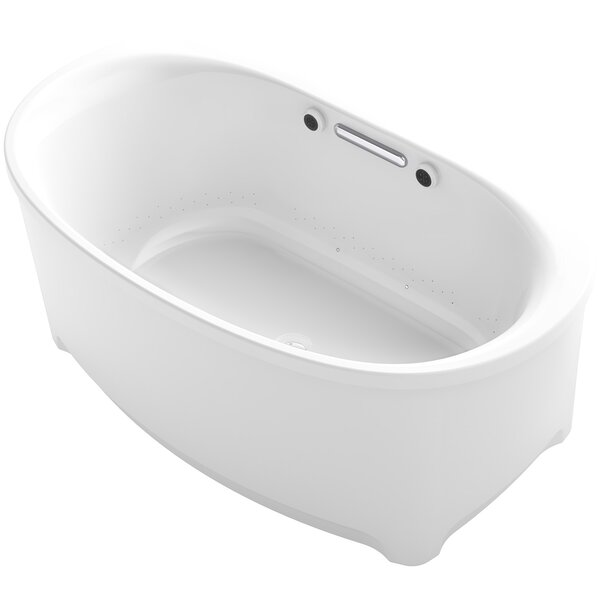 Underscore Oval Freestanding BubbleMassage™ Air Bath by Kohler