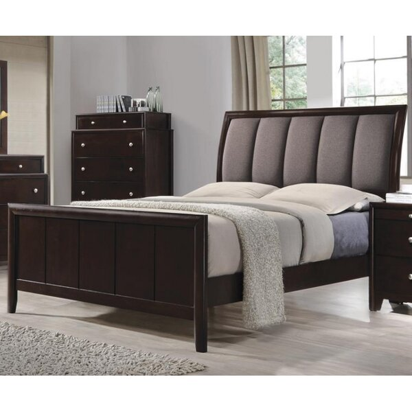 Ledford Upholstered Standard Bed by Brayden Studio