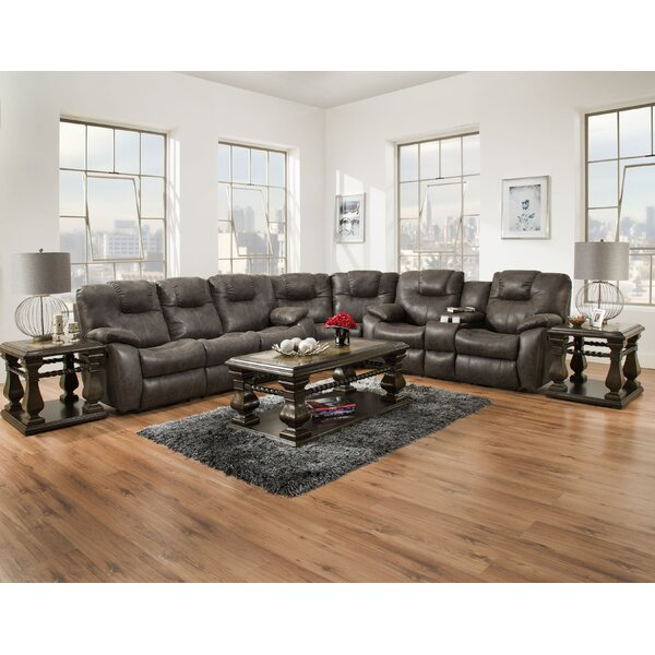 Avalon Reversible Reclining  Sectional by Southern Motion