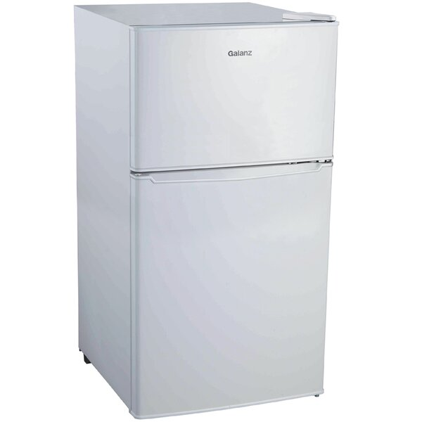 4.0 cu. ft. Compact Refrigerator with Freezer by Galanz