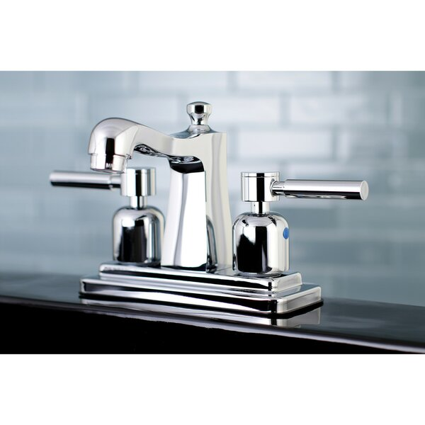 Concord Centerset Bathroom Faucet with Drain Assembly by Kingston Brass Kingston Brass
