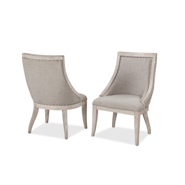 Graphite Upholstered Dining Chair (Set of 2) by Panama Jack Home