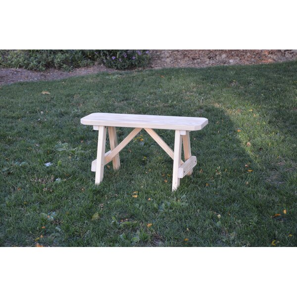 Sparta Wood Picnic Bench by Loon Peak