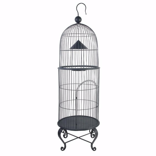 House Style Economy Bird Cage by Benzara