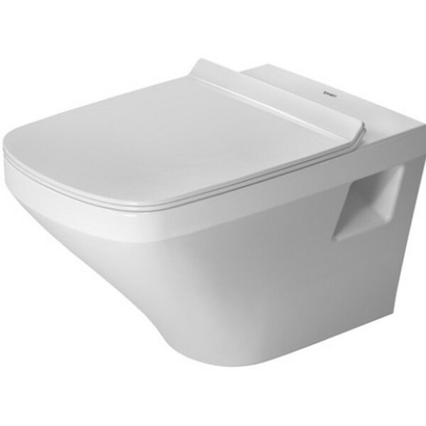 DuraStyle Wall Mounted Washdown Rimless 1.6 GPF Elongated Toilet Bowl by Duravit