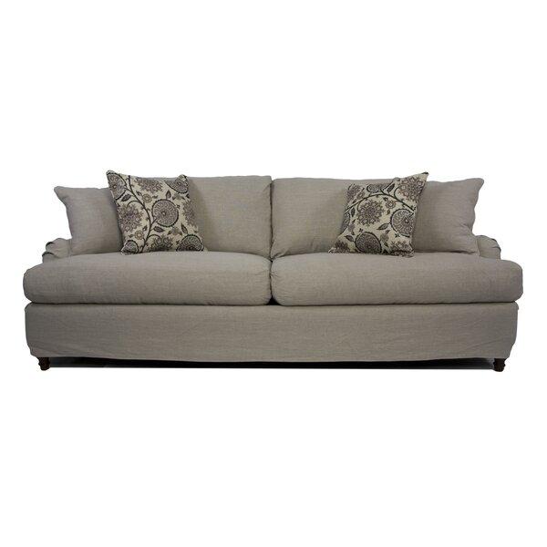 Seacoast T-Cushion Sofa Slipcover Set by Sunset Trading