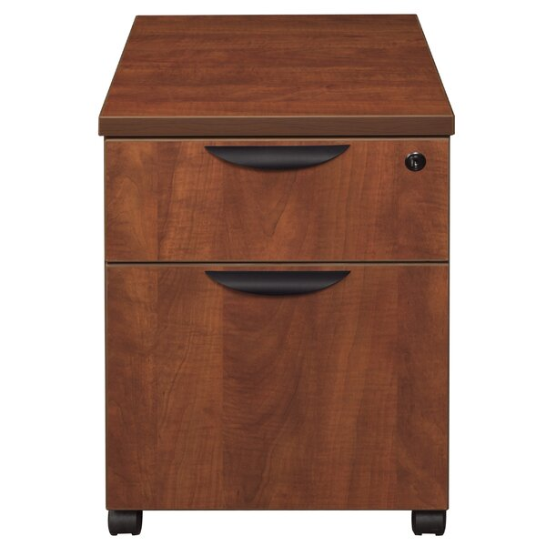 Linh Box File 2-Drawer Mobile Vertical Filing Cabinet by Latitude Run