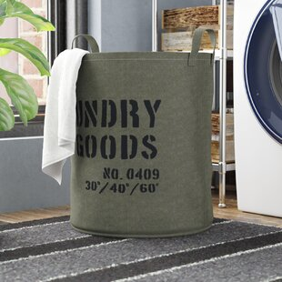 Comparison Kordell Army Canvas Laundry Hamper By Williston Forge