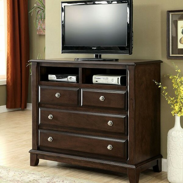 Rossignol Media 4 Drawer Chest by Charlton Home