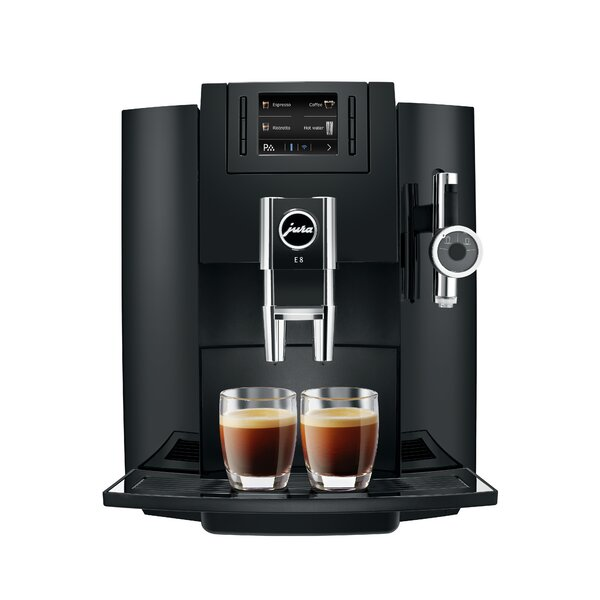 E8 Super-Automatic Coffee & Espresso Maker by Jura