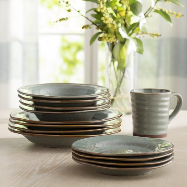 Jacques 16 Piece Dinnerware Set, Service for 4 by Laurel Foundry Modern Farmhouse