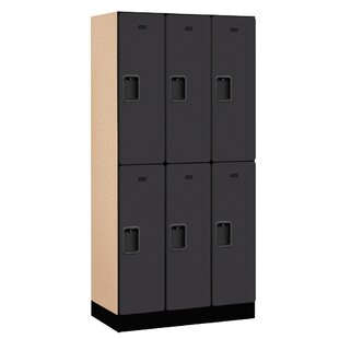2 Tier 3 Wide School Locker