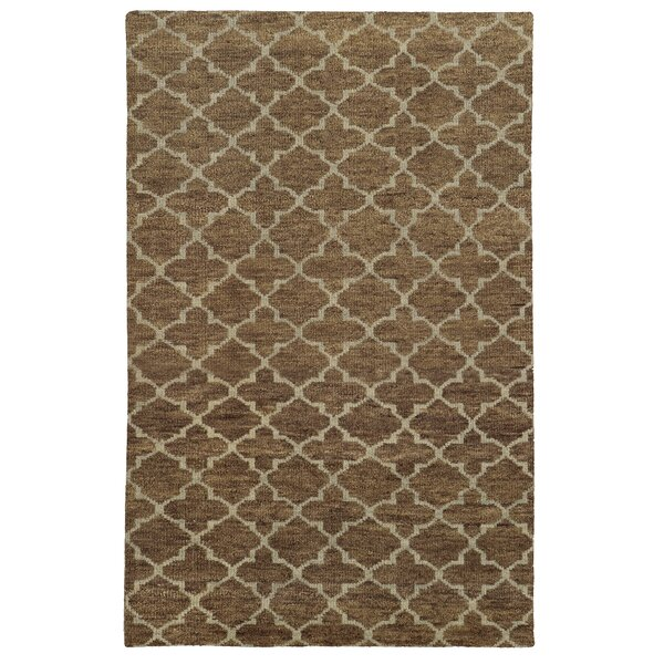 Tommy Bahama Maddox Brown / Blue Geometric Rug by Tommy Bahama Home