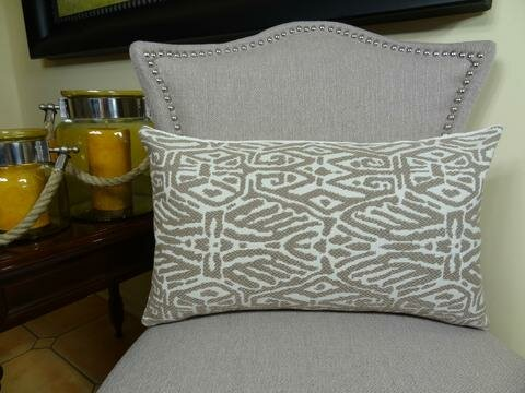 Trendy Look Handmade Throw Pillow by Plutus Brands
