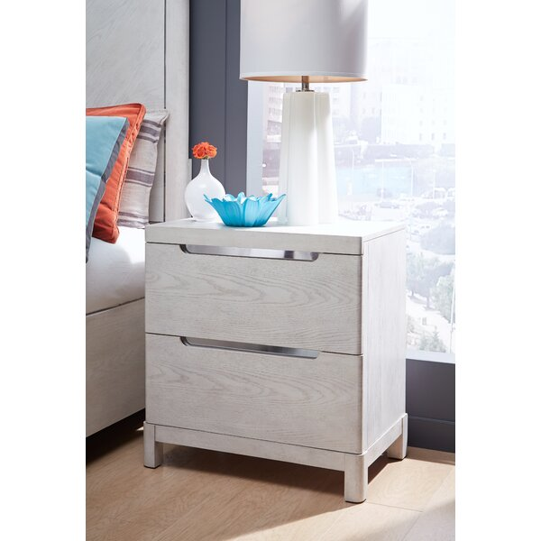 Isse 2 Drawer Nightstand by Brayden Studio