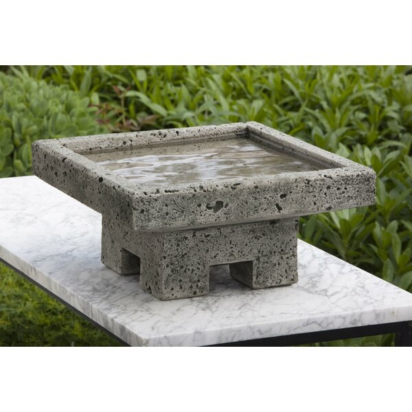 Kosei Birdbath by Campania International