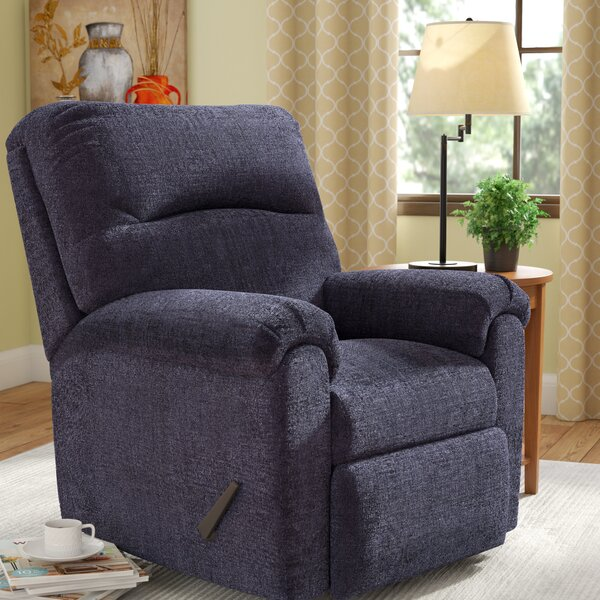 Helene Manual Rocker Recliner by Simmons Upholstery [Red Barrel Studio]