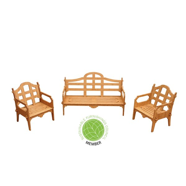 Burliegh 3 Piece Sofa Set by Loon Peak