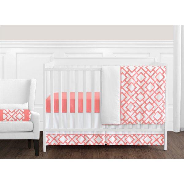 Mod Diamond 11 Piece Crib Bedding Set by Sweet Jojo Designs