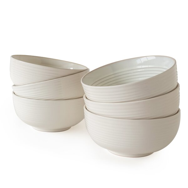 Leaman Cereal Bowl Set Of 6 By Winston Porter.