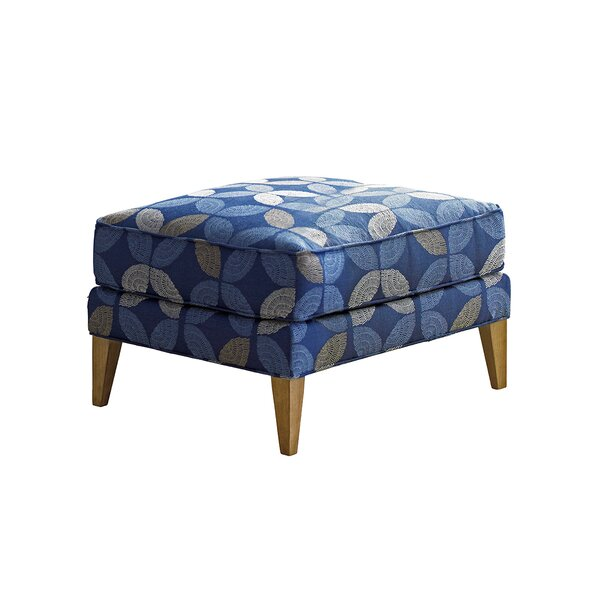 Twin Palms Ottoman by Tommy Bahama Home