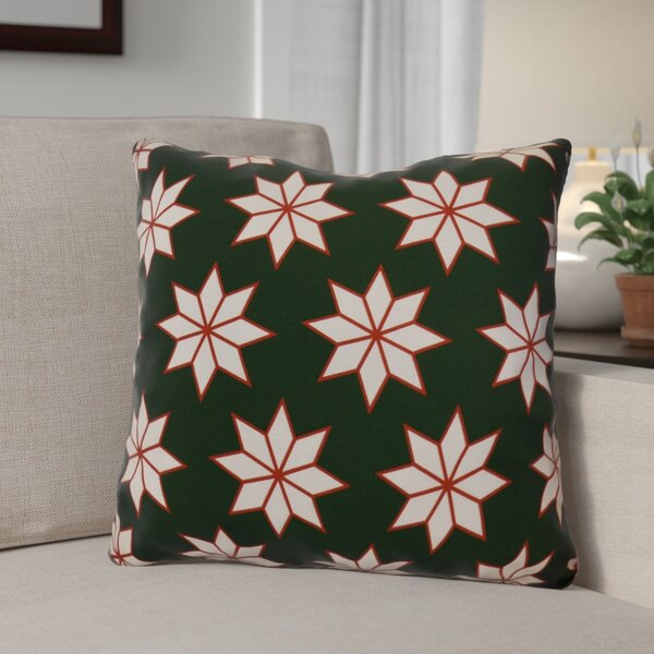 Christmas Decorative Holiday Indoor Geometric Print Throw Pillow by The Holiday Aisle
