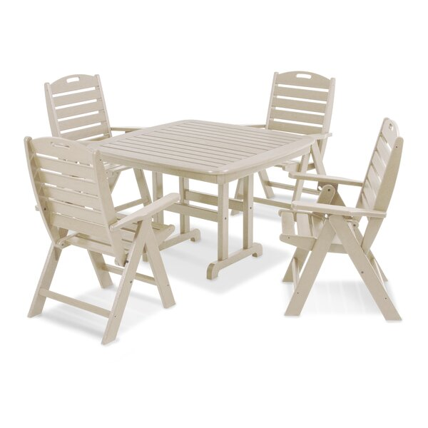Nautical 4 Piece Dining Set by POLYWOOD®