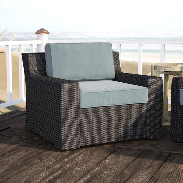 Linwood Patio Chair with Cushions by Beachcrest Home