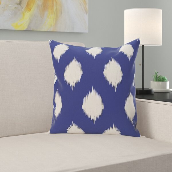Jaclyn Geometric Print Outdoor Throw Pillow by Zipcode Design
