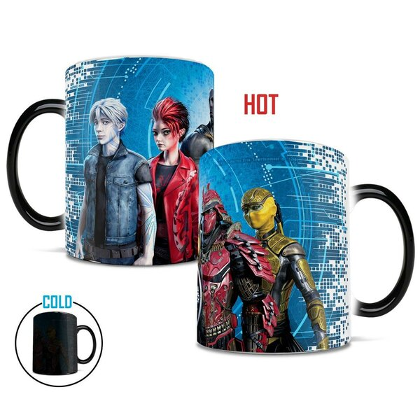 Ready Player One High Five Coffee Mug by Morphing Mugs