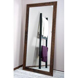 Highland Dunes Stalybridge Urban Wood Tall Vanity Wall Mirror