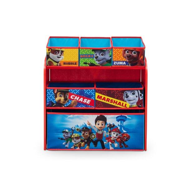 Nick Jr. PAW Patrol Toy Organizer by Delta Children
