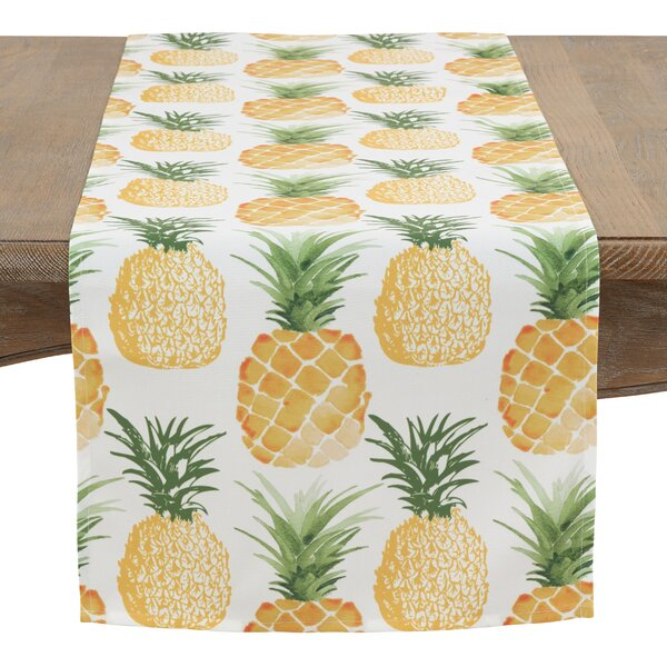 Harker Pineapple Table Runner by Bay Isle Home