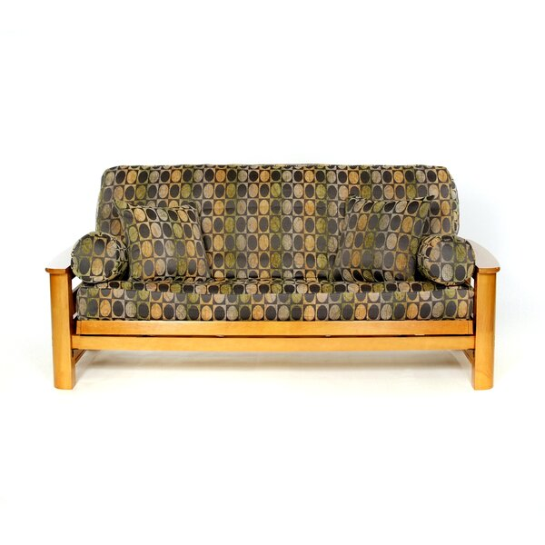 Arbor Box Cushion Futon Slipcover by Lifestyle Covers