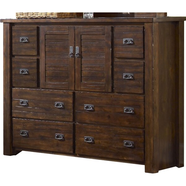 Worksop 8 Drawer Combo Dresser by Loon Peak
