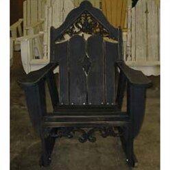 Veranda Solid Wood Rocking Adirondack Chair by Uwharrie Chair