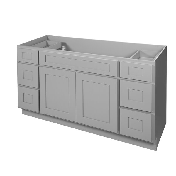 Elegant 60 Single Bathroom Vanity Base Only