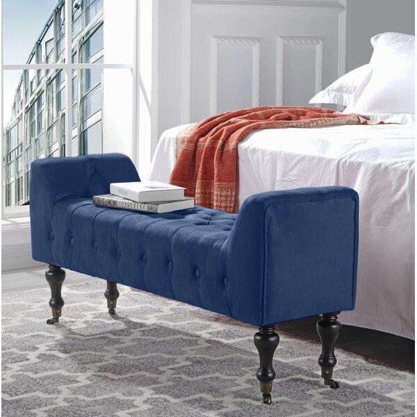 Sanders Upholstered Bench By Mercer41 Cool