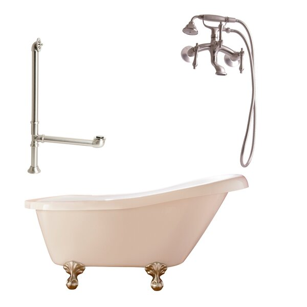 Hawthorne Soaking Bathtub by Giagni