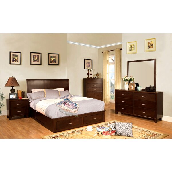 Carpino Cherry Platform Configurable Bedroom Set by Latitude Run