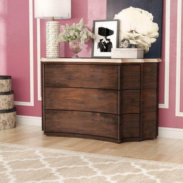 Sheena 3 Standard Dresser/Chest by Willa Arlo Interiors