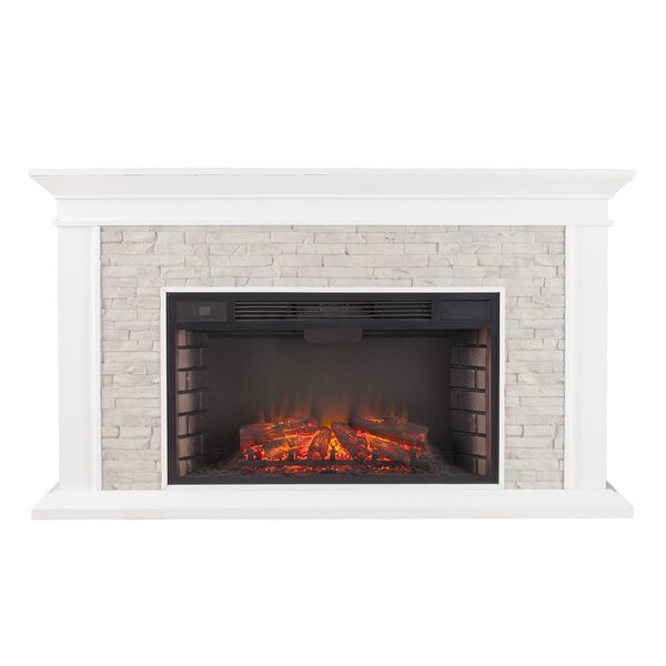 Camilla Simulated Electric Fireplace By Darby Home Co