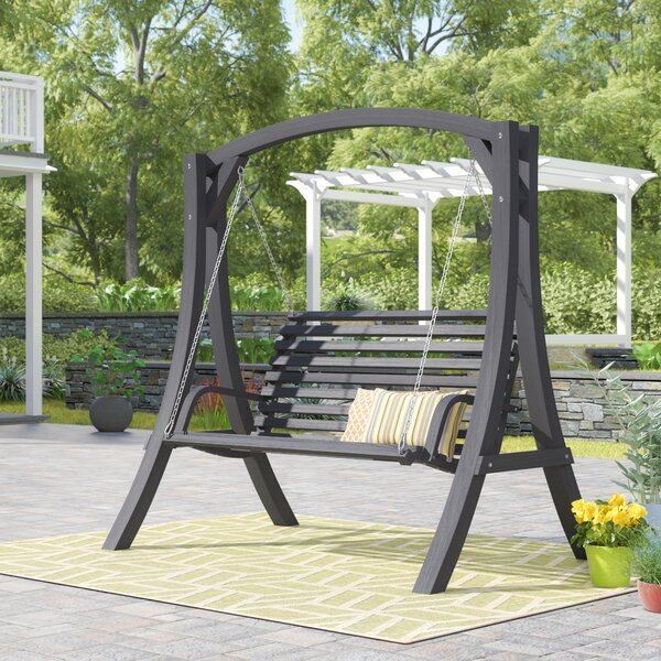Brandi Porch Swing With Stand By Freeport Park by Freeport Park Bargain