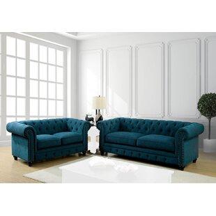 Edingon 2-pcs Living Room Set by Canora Grey