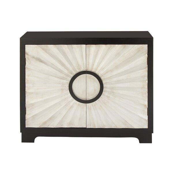 Bem 2 Door Wood Accent Cabinet