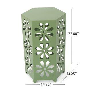 Compare Molnar End Table by Ebern Designs