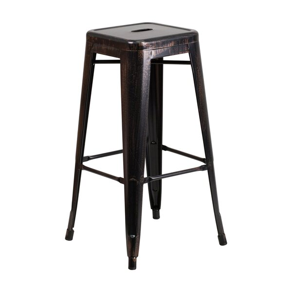 Backless 30 Patio Bar Stool by Offex